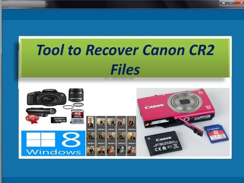 Progressive software to recover Canon files